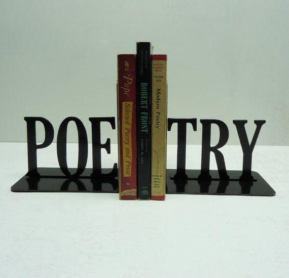 Libro di poesie testo Metal Art finisce di KnobCreekMetalArts