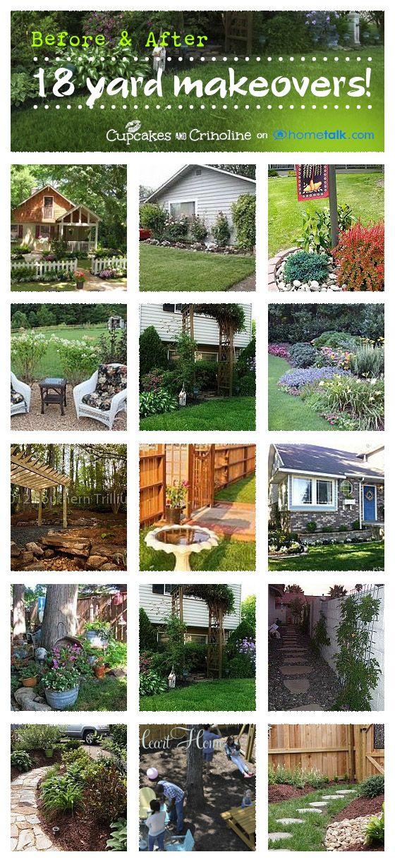 Backyard Garden Ideas Before And After 38 best backyard before and afters images on pinterest | backyard