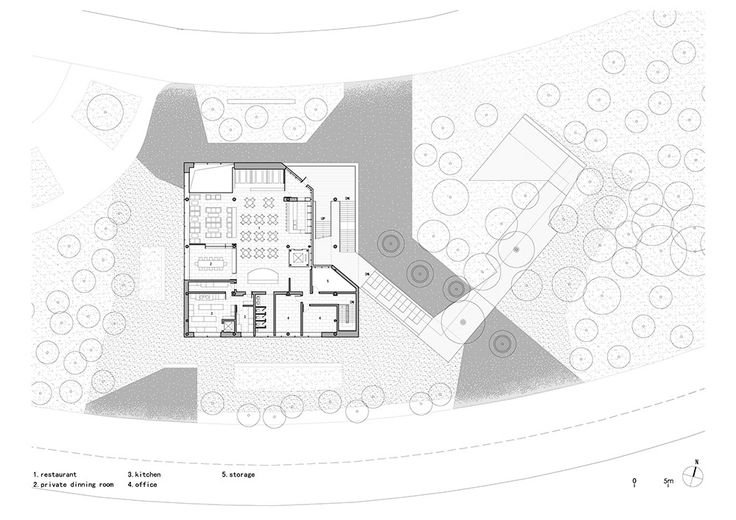 Image 33 of 44 from gallery of Vanke Brand Center / Vector Architects. Third Floor Plan