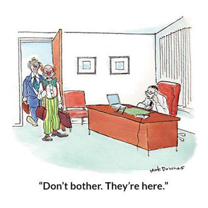 Beyond Dilbert: Take a break at the office and laugh with our collection of Reader's Digest cartoons about work and office life.