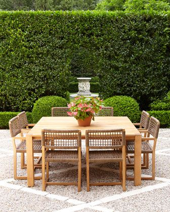 looking for a big, square table for patio