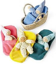 hankerchief dolls | Playtime with Baby Find IT