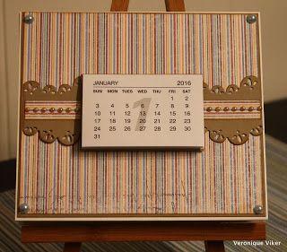 Calendar desk 2016 (part 2)