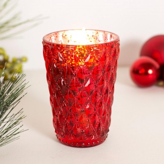 Place these Christmas Filled Jar Candles around your home and smell the scents of the season.