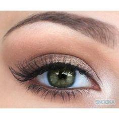 natural eye makeup for hazel eyes - Google Search                                                                                                                                                                                 More