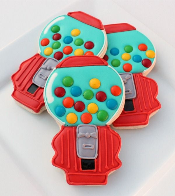 bubblegum machine cookies..