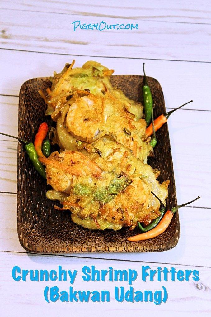 Crunchy Shrimp Fritters Bakwan Udang Shrimp Fritters Fritters Crispy Shrimp