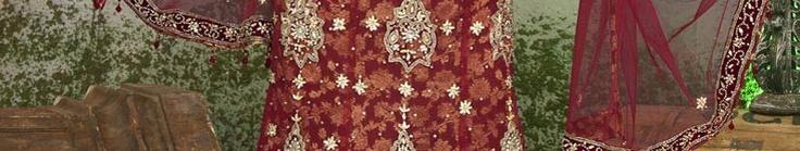 Red Net Lehenga Choli With Dupatta Online Shopping: SLLWK1064