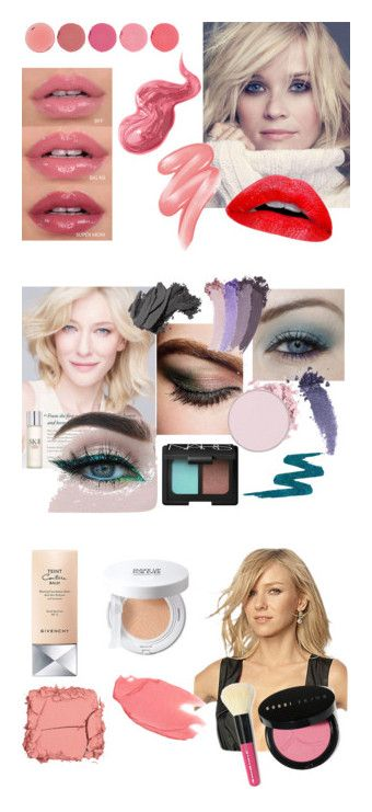 """Light Summer Makeup"" by stylist-vera on Polyvore featuring summermakeup, coloranalysis, lightsummer, type2, beauty, Clinique, Kjaer Weis, Bobbi Brown Cosmetics, SK-II and Chanel"