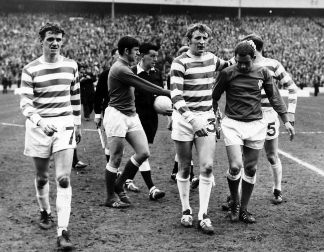 The world of Scottish football will say a final farewell to Tommy Gemmell (No 3) later this morning