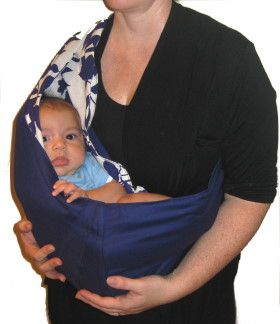 How to make Baby Sling - Pouch - DIY Craft Project with instructions from Craftbits.com