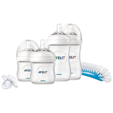 Buy Philips Avent Natural Newborn Starter Set, Assorted Sizes Online at johnlewis.com
