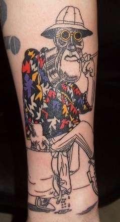 Ralph steadman gonzo tattoos pinterest ralph steadman for Everett tattoo emporium
