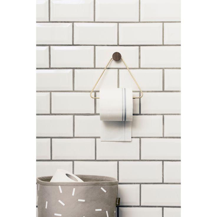 Brass hängare, triangle – Ferm Living – Köp online på Rum21.se