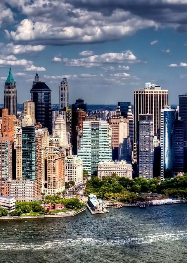 Horizonte de Nueva York.
