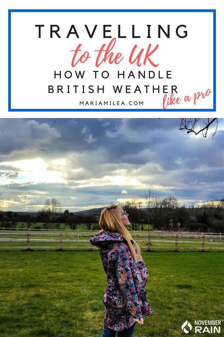Learn how to handle British weather like a pro. Read about my experiences with the weather after 2 years in the UK and how you can prepare for your trip.