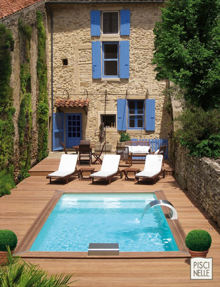 25 best ideas about petite piscine on pinterest garden for Mini piscine hors sol