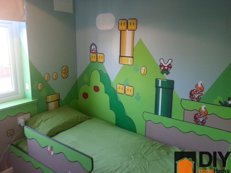 mario themed room