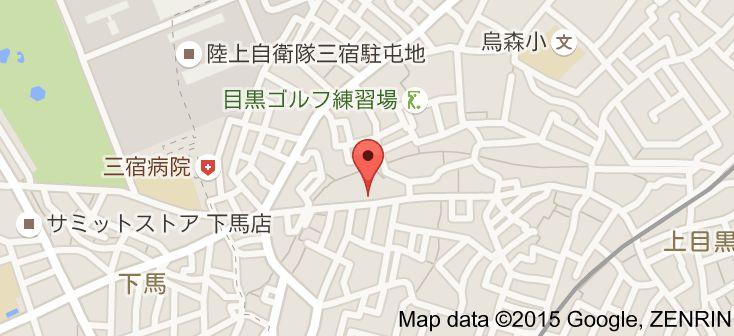 Map of 汐風 (上目黒店) 羊栖菜 / 炸魚餅 / 金目鯛涮涮鍋