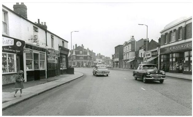 The Green looking south c. 1960