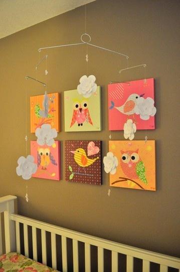 Arte e Mil Idéias...: Quartos de bebê