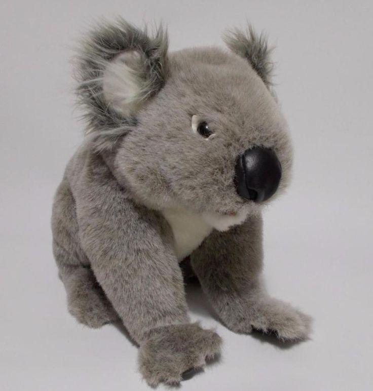 "Folkmanis Koala Hand Puppet Plush Gray Stuffed Animal 14"" #Folkmanis"