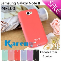 Samsung Galaxy Note 2 N7100/ N7108 Rubber TPU Soft Candy Colourful Slim Cover Case