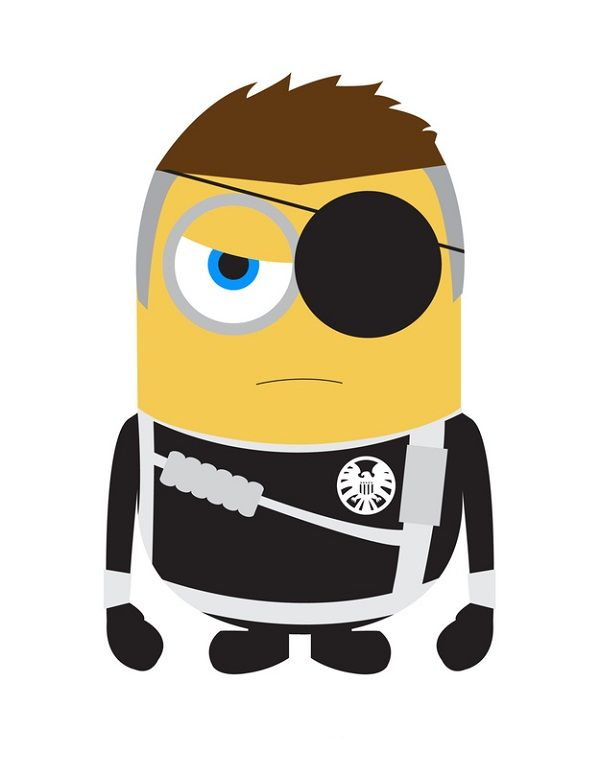 Despicable Me Minions As Superheroes Fury