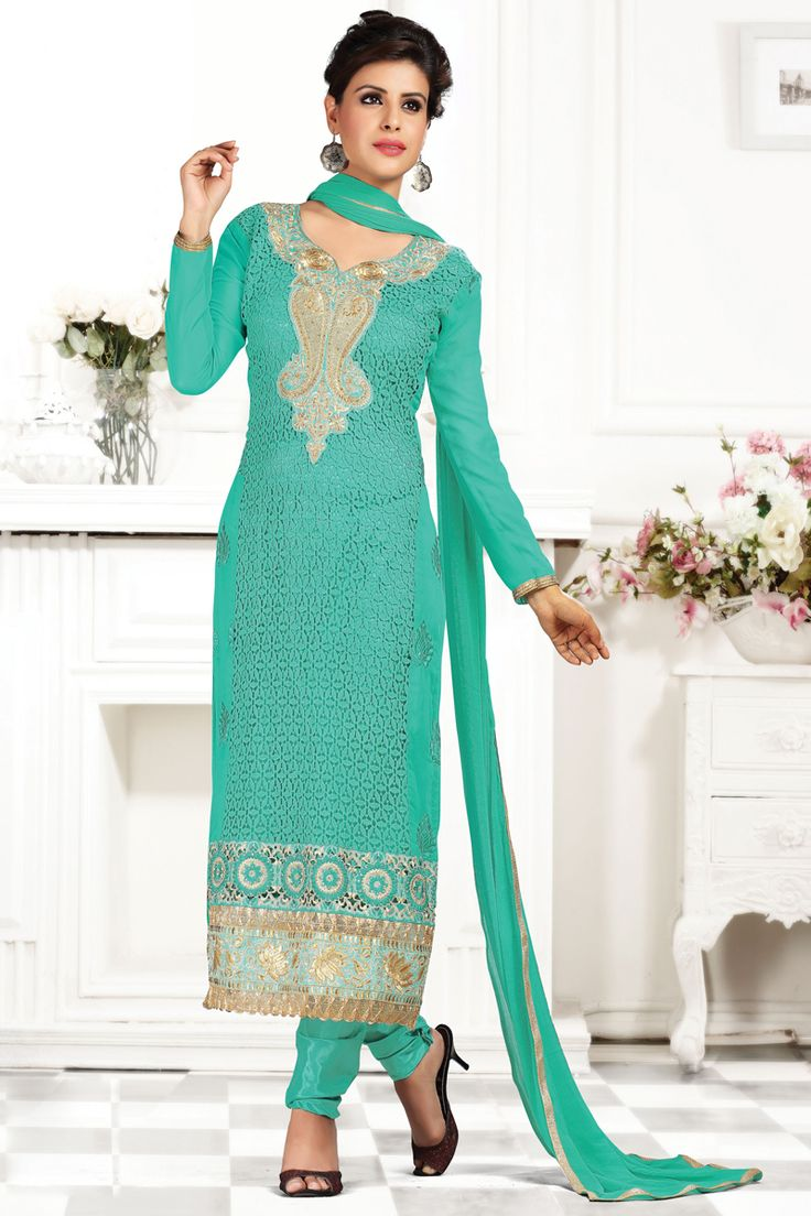 138 best Casual Party Wear Salwar Kameez images on Pinterest ...