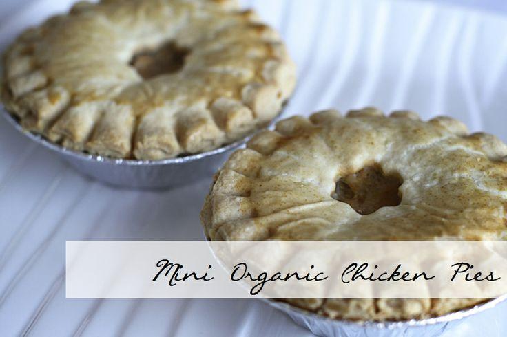 Mini Organic Chicken Pies