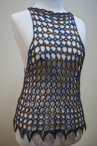 New #crochet tank top pattern for sale from @Selena K