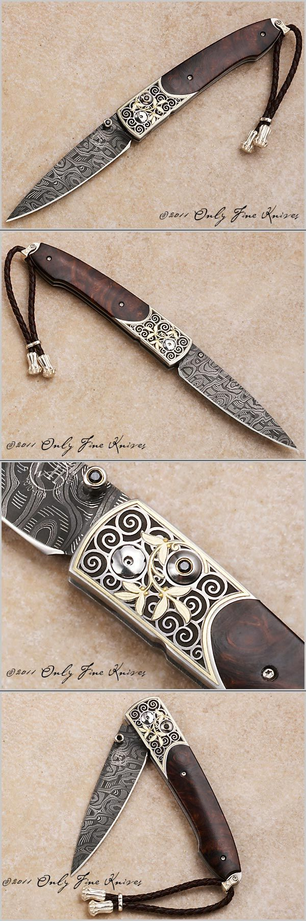 William Henry, B05 Custom 110310, Only Fine Knives..5000    Love this - beautiful and detailed