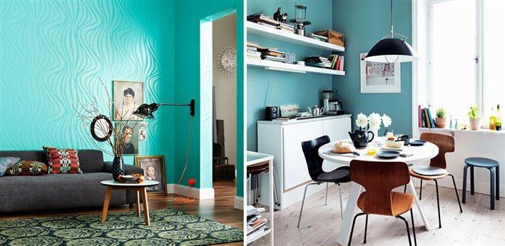 Inredning väggfärg pastell : väggfärg pastell turkos - Sök pÃ¥ Google | Inredning | Pinterest ...