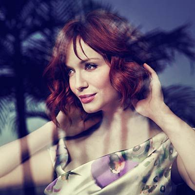 Christina Hendricks has an all-natural approach to living. The Mad Men star opens up about shopping for vintage bargains, swapping her way to healthier snacks and talking herself into working out. (she's one of us!)