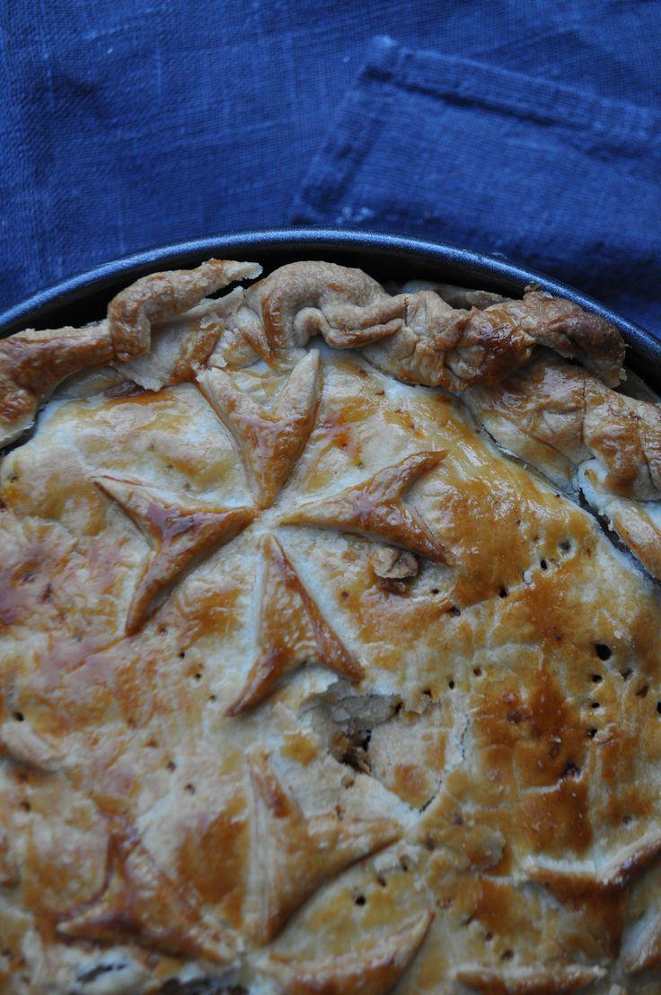 Maltese Rabbit Pie - Torta tal-Fenek - A Maltese Mouthful