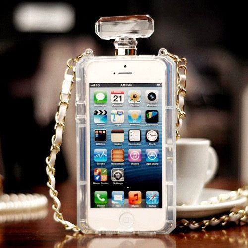 Canal de lujo botella de Perfume Case para iPhone 4 4S 5 5S 6 6 más para Samsung Galaxy S3 i9300 S4 i9500 i9600 S5 S5 G9200 Note 3 4(China (Mainland))