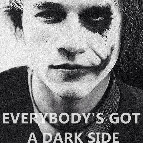 Heath Ledger/ Joker :) I'd love this quote as a tattoo