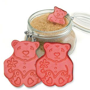 Brown Sugar Bear (Set Of 2) - Keeps brown sugar soft. Just soak the reusable, natural terra cotta bear in water for 15 minutes, pat dry and place in sugar. When your sugar begins to harden, simply re-soak and re-use your bear. (Product Number BS004) $7.98 CAD www.davesgift.shopregal.ca