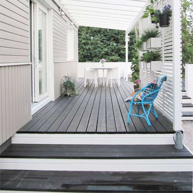 how to clean and paint wood deck