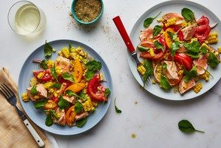 You Only Need One Pot to Make This Salmon Salad for Dinner
