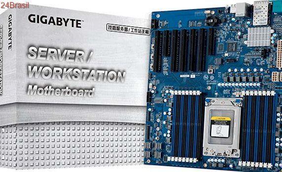 Gigabyte apresenta placa-mãe MZ30-AR0 para processadores AMD Epyc