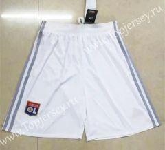 2017-18 Olympique Lyonnais Home White Thailand Soccer Shorts