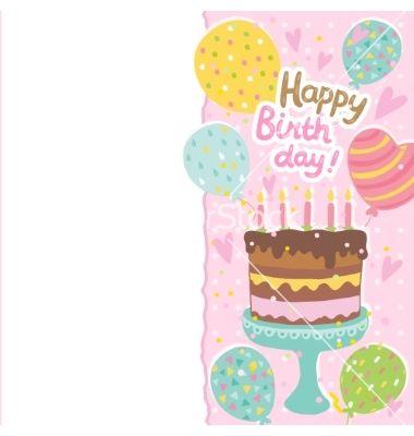 Best 25+ Cake vector ideas on Pinterest Cupcake vector, Cupcake - birthday cake card template