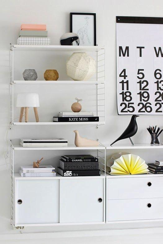 the little design corner ikea gallo shelves ikea hacks vs string shelving system styling. Black Bedroom Furniture Sets. Home Design Ideas