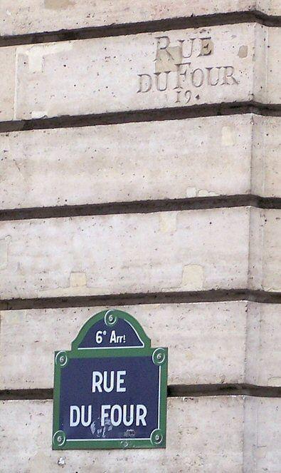 La rue du Four  (Paris 75006)
