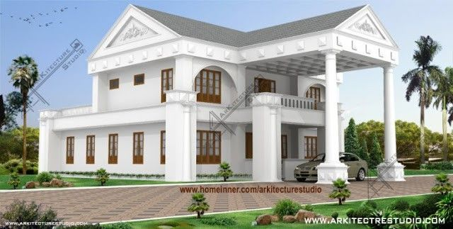 5000 sqft Malabar Style Luxury Villa Design by Arkitecture Studio ...