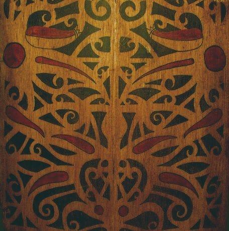 Dayak shield from Borneo