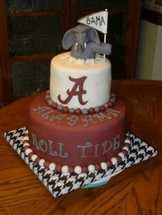 Univ Alabama cake