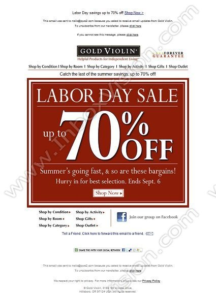 17 Best images about Email Design: Labor Day on Pinterest ...