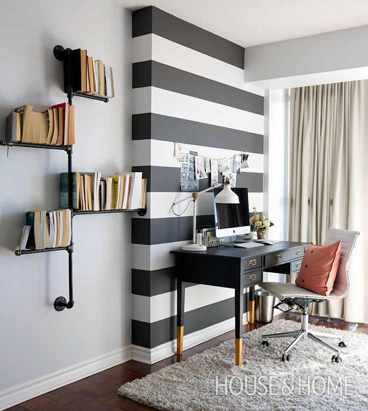 25+ Best Ideas About Striped Accent Walls On Pinterest